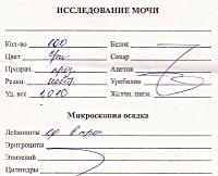 Общ анализ мочи санкт-петербургская медицинская акдемия имени ильи ильича мечникова