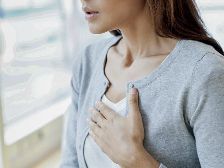 От чего бывает боль в грудине